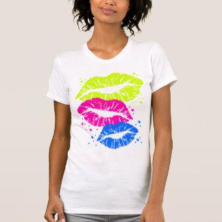Läppar för vintage för Corey tiger80-tal & T-shirts