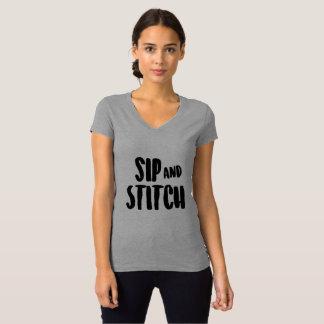 Läppja och sy t shirts