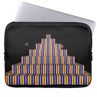 Laptop sleeve 13 för REGNBÅGEPYRAMIDNeoprene