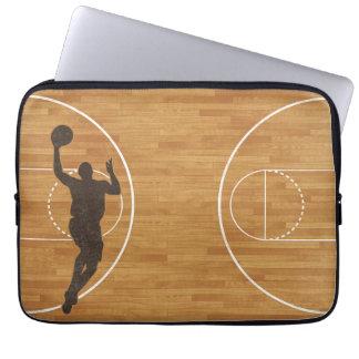 Laptop sleeve för basketdomstolpojke