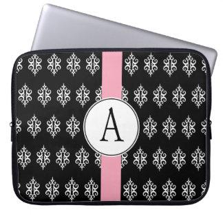 Laptop sleeve för Monogramsvartsnöre Laptop Datorskydd