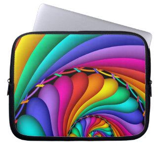 Laptop sleeve för regnbågeStitchery gay pride LGBT