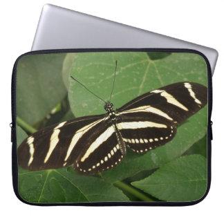 Laptop sleeve för sebraLongwing fjäril Datorskydds Fodral