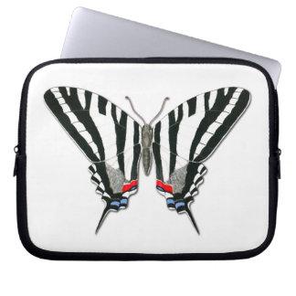 Laptop sleeve för sebraSwallowtail fjäril Datorskydd