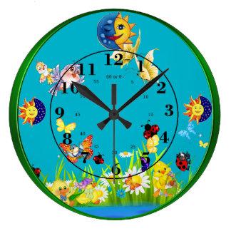 Lär att berätta Time Stor Klocka
