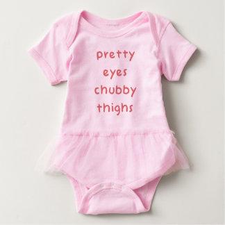Lår för sötögaknubbig t-shirts