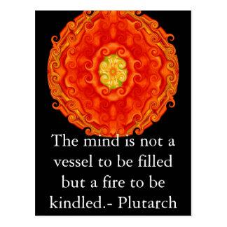 Lära för lärare för Plutarch Vykort