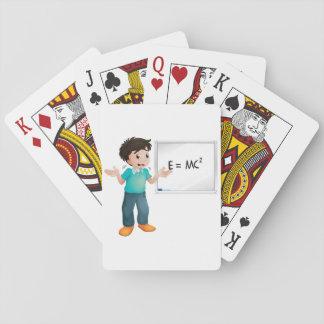 Lära Maths som leker kort Kortlek