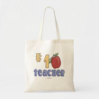Lärare #1 tote bags