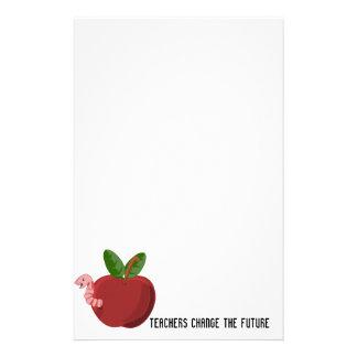 Lärare ändrar framtiden brevpapper