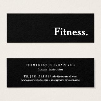 Lärare för Pilates Yogainstruktör Litet Visitkort