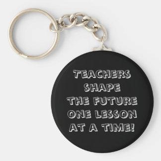 Lärare formar den framtida en kursen i sänder! rund nyckelring
