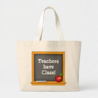 Lärare har att klassificera! jumbo tygkasse