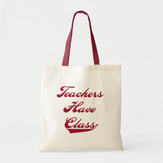 Lärare har att klassificera röda Tshirts och gåvor Budget Tygkasse