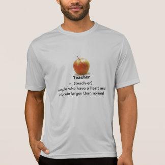 Lärare har en hjärta och en hjärna som är större tshirts