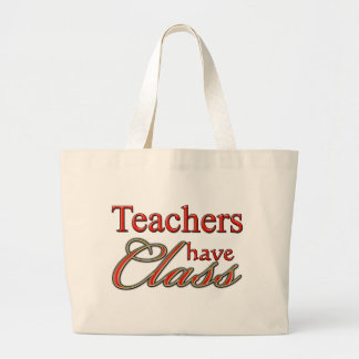 Lärare har Klassificera-Orangen Jumbo Tygkasse