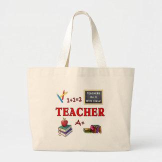 Lärare Tygkassar