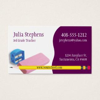 Lärare mentor eller handleder visitkorten visitkort