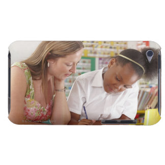Lärare och skolar barnarbetet i klassrum Case-Mate iPod touch skydd