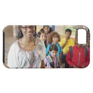 Lärare och studenter skolar in hall tough iPhone 5 fodral