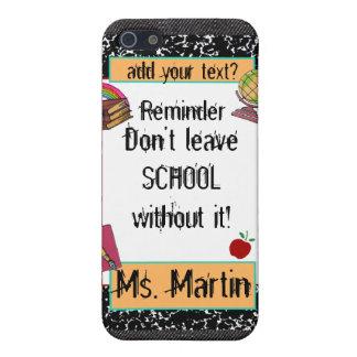 Lärare/studenten skolar temaSpeckiphone case iPhone 5 Fodral