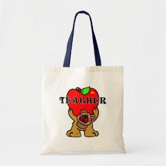 LärareApple björn Tote Bag
