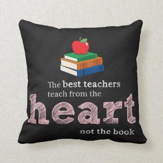 Lärarecitationstecken Kudde