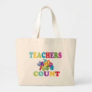 Lärareräkningstote bags jumbo tygkasse