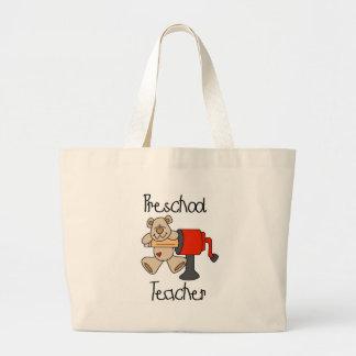 LärareTshirts och gåvor för björn förskole- Jumbo Tygkasse