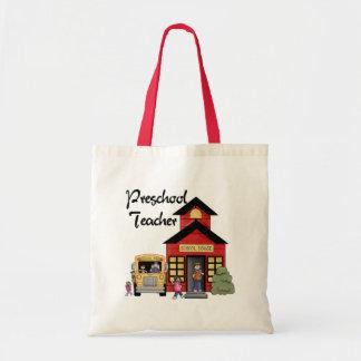 LärareTshirts och gåvor för Schoolhouse förskole- Tote Bag