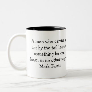 Lärd kurs Två-Tonad mugg