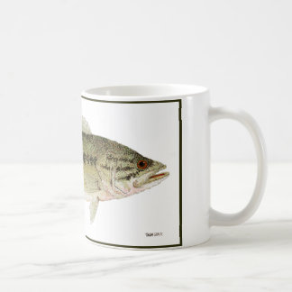 Largemouth bas kaffemugg
