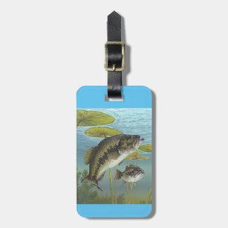 Largemouth Bass Bagagebricka