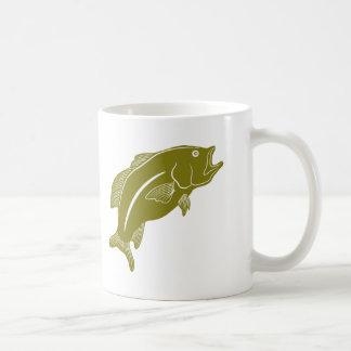 Largemouthed bas kaffemugg