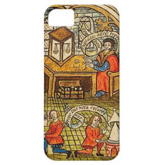 Lärlingar i ett medeltida laboratorium iPhone 5 fodral