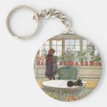 Larsson: Blommor på fönsterbrädan Nyckelring
