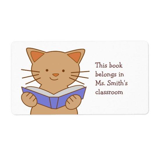 Läs- bok för katt fraktsedel