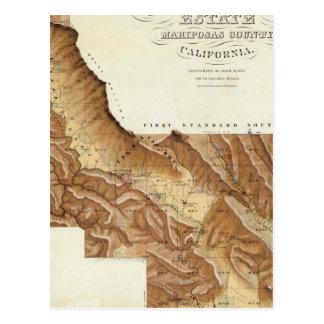 Las Mariposas godsMariposas län Kalifornien Vykort