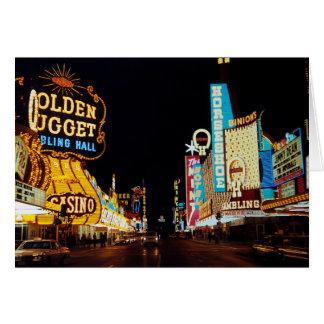 Las Vegas 1960 Hälsningskort