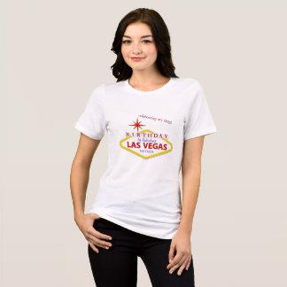 Las Vegas 60th födelsedagJersey T-tröja Tee