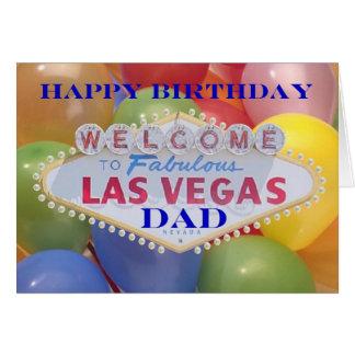 Las Vegas ballonger! Grattis på Hälsningskort