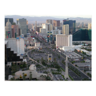 Las Vegas Boulevard remsa Vykort