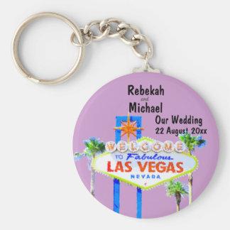 Las Vegas bröllop daterar Rund Nyckelring