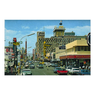 Las Vegas (Fremont gata50-tal) Poster