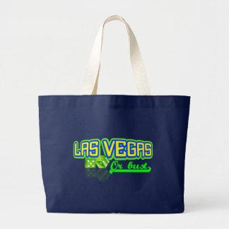 Las Vegas hänger lös - välj stil & färga Jumbo Tygkasse