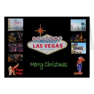 Las Vegas julkort Hälsnings Kort