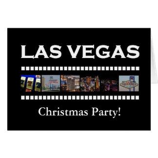 Las Vegas julparty! Kort