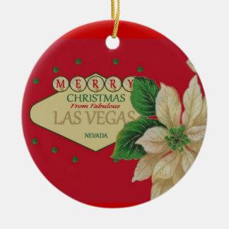 Las Vegas julprydnad Julgranskulor