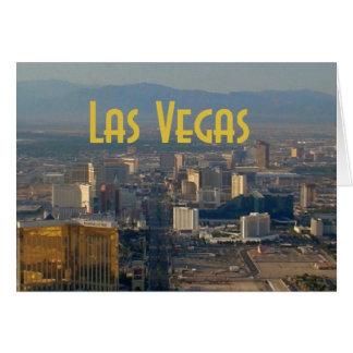 Las Vegas kort