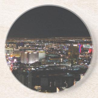 Las Vegas på natten Underlägg Sandsten